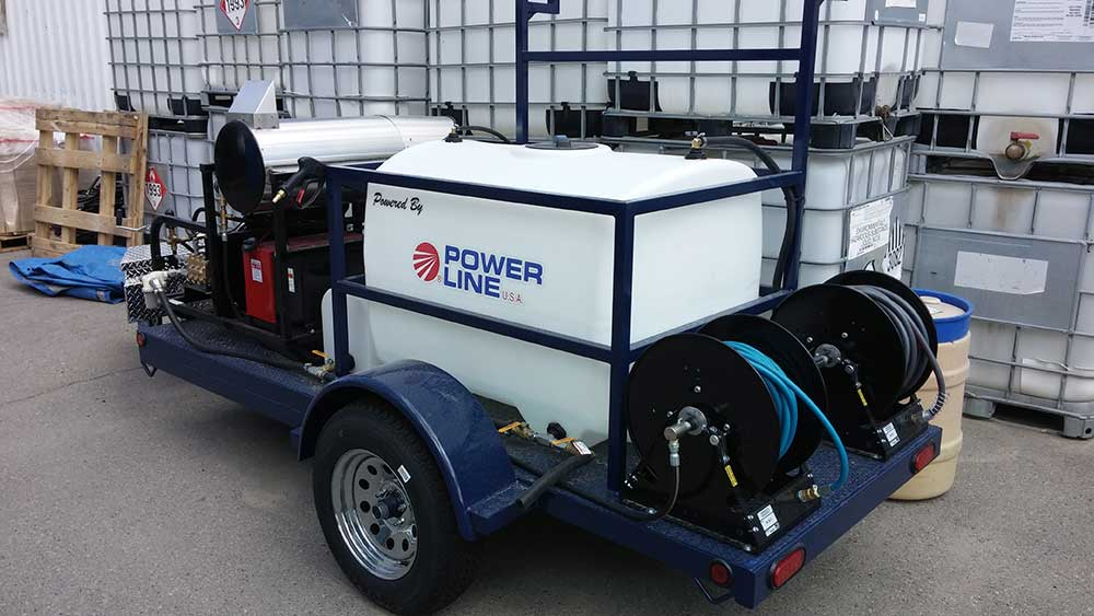 Power Wash Trailers For Professional Pressure Wash