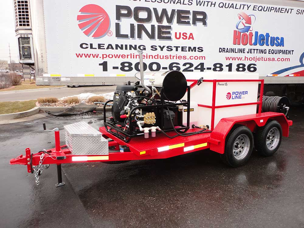 Pressure Washer Gun >> Trailer Mounted Pressure Washer 35HP