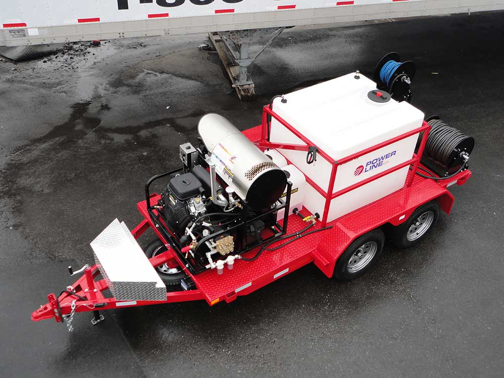 Power Wash Trailers for Professional Pressure Wash ...
