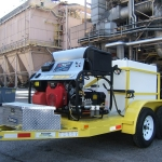 Tandem Axle Power Washer