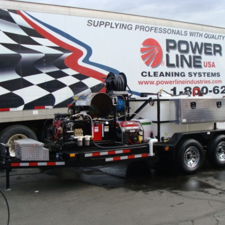 Environmental Pro Package 3 Power Wash Trailer Recycle/Reclaim Unit