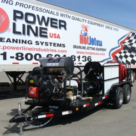 Environmental Pro Package 2 Power Wash Trailer