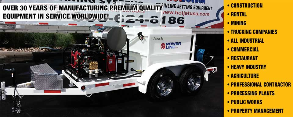 Power Wash Trailers for Professional Pressure Wash Business